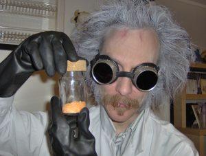 Korleis kan EG veta kva dei oransje krystallane er for noko når etiketten har dotte av!
